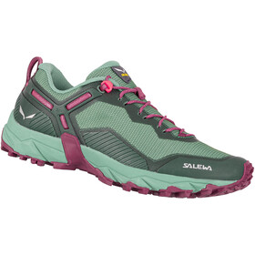 SALEWA Ultra Train 3 Shoes Women, duck green/rhododendon